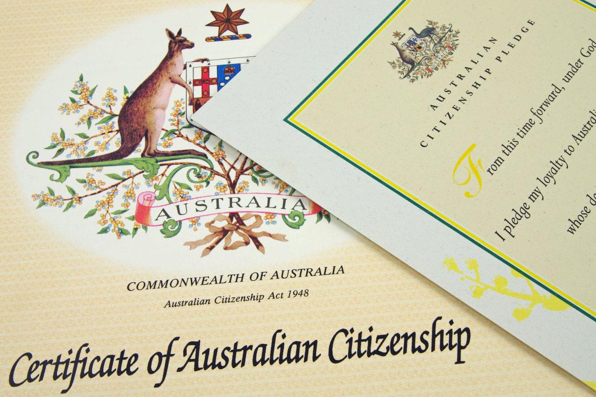 Xin cấp lại chứng nhận Quốc tịch Úc khi bị mất