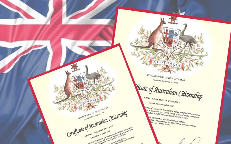 Thông tin cần nắm về bài thi quốc tịch Úc